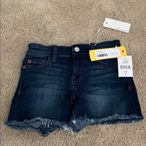 Girls blue jean shorts
